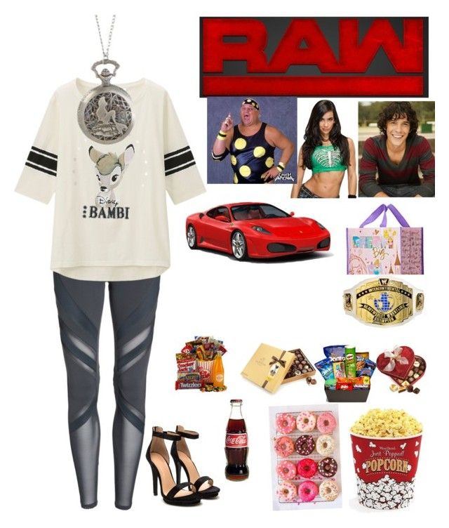 """🇵🇷Gia🇵🇷 Going to Raw for their 1 year anniversary & introducing Bob to AJ & Dusty"" by rroyalserena ❤ liked on Polyvore featuring Alo, Uniqlo, WWE, Morley, Disney Pixar Finding Dory, Disney, Diptyque, Junk Food Clothing, West Bend and bobmorley"