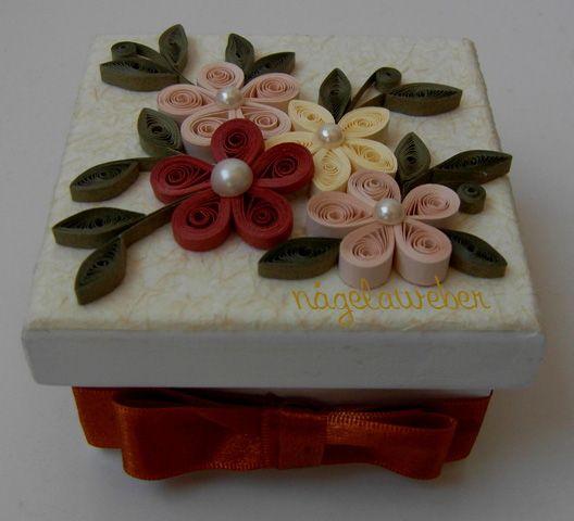 Artes de Nágela caixas decoradas
