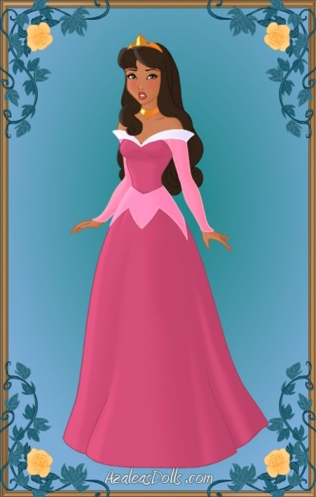 Princess Aurora - Disney Princesses Transformed into Women of Color from Tumbler page: http://marrymejasonsegel.tumblr.com/post/27821233220/so-i-made-a-bunch-of-white-disney-characters-into