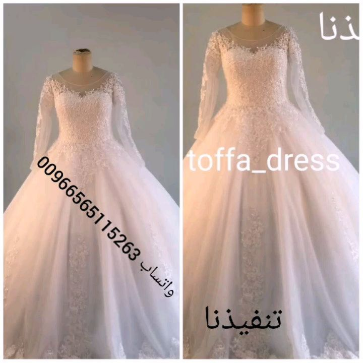 متجر توفا تفصيل أجمل فساتين الزفاف والسهره بالطلب واتساب 00966565115263 فساتين فساتين سهره فساتين سهرة فسات Dresses Real Weddings Dress Wedding Dresses