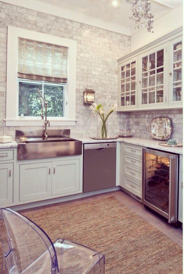 Sconce in kitchen