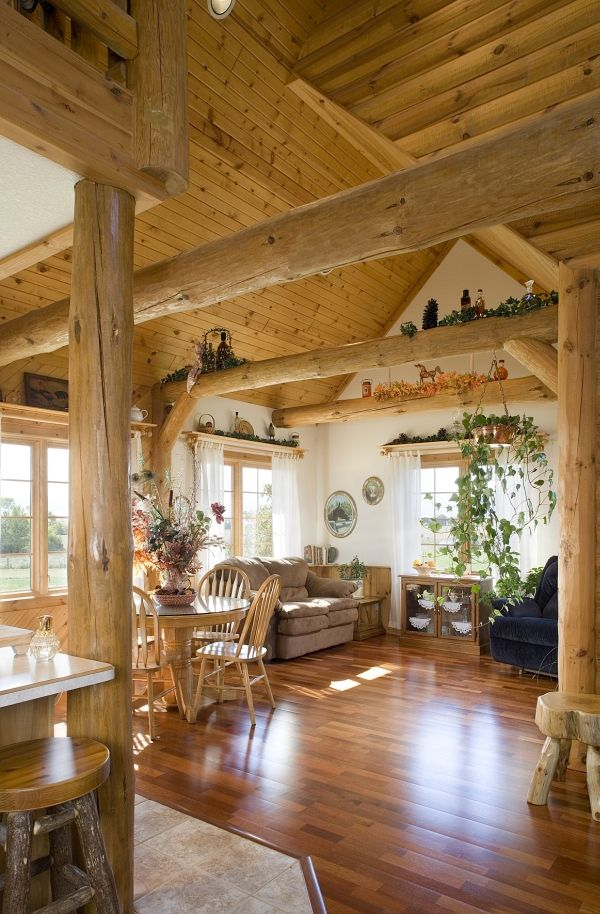 Best 25 Log Home Decorating Ideas On Pinterest Log