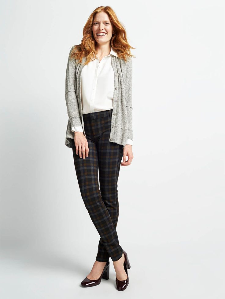 FASHION TIPS How to Dress Up Your Work Trousers It's easy to reach for an LBD or your fave festive dress during the holidays. But, who's to say you can't show up to a party in pants—and look drop-dead gorgeous? Here are some party-perfect ways to dress up a classic trouser (like our exclusive, best-selling Emer) to all your seasonal shindigs. SHARE THIS: SHARE PIN TWEET LINK EMAIL Sc
