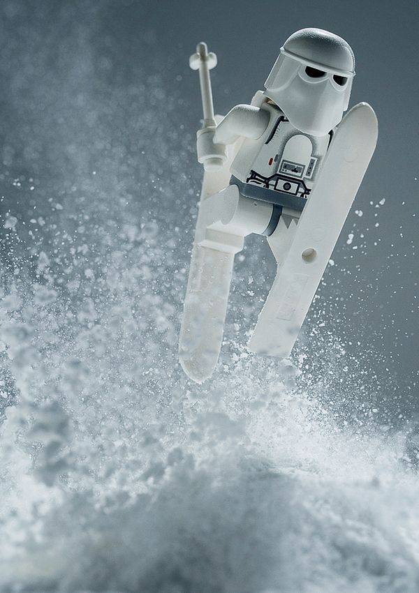 LEGO Snowtrooper Action Shot