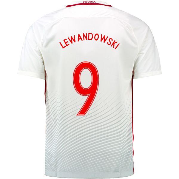 ... closeout robert lewandowski 9 2018 fifa world cup poland home soccer  jersey df49d 2462b 55116d37f