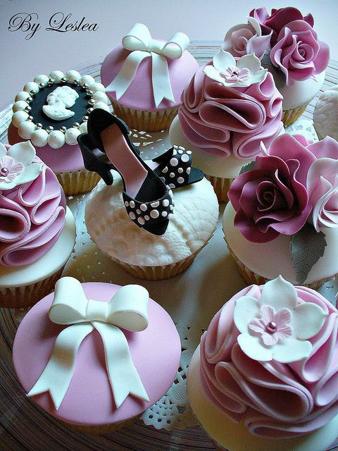 31 Best Images About Girly Cupcakes On Pinterest