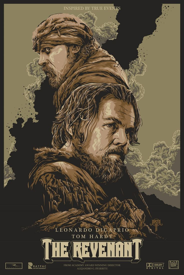 Fandoms McObsessions III — we-dig-film-posters:   The Revenant (2015) In the...