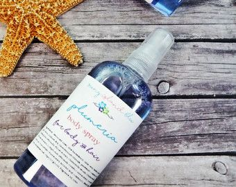 Beach Bum Body Spray Moisturizing Body Spray by SunyIslandBlu