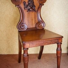 Antique Hall Chairs for sale