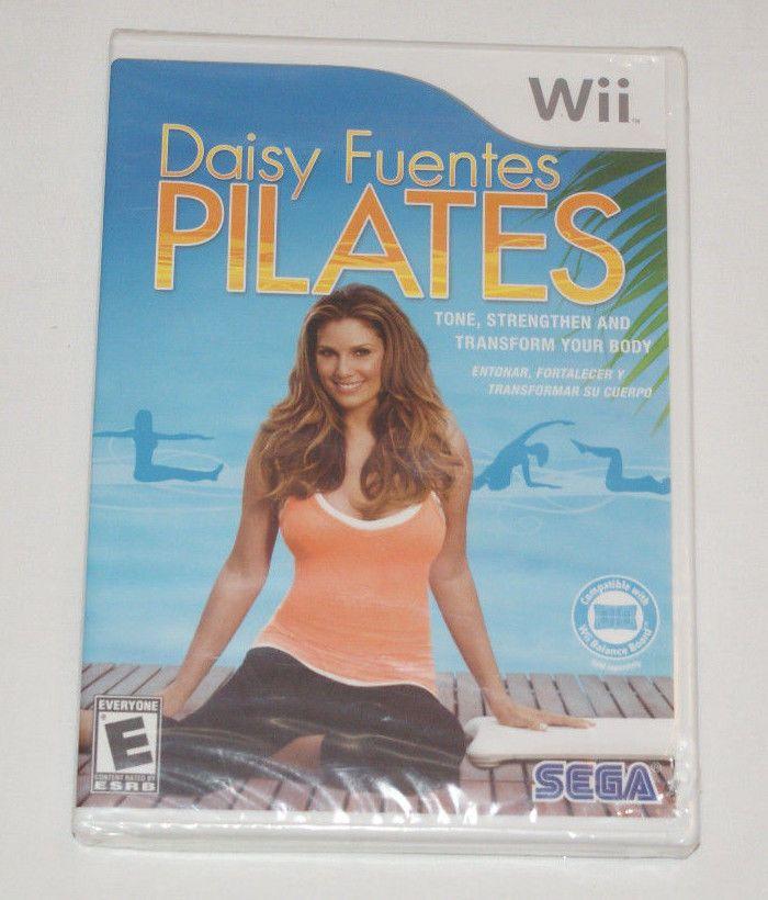 Daisy Fuentes Pilates (Nintendo Wii or Wii U, 2009) New & Sealed *FREE SHIPPING* #Sega