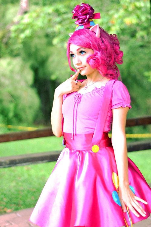 Pinkie Pie from My Little Pony: Friendship is Magic Her hair needs to be longer. *complainy noise*
