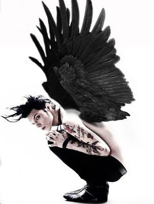 Andy Biersack in his true form.<<<< his true form is Batman what are you talking about>> the noise I just made was not human.<<< Repining just for that comment