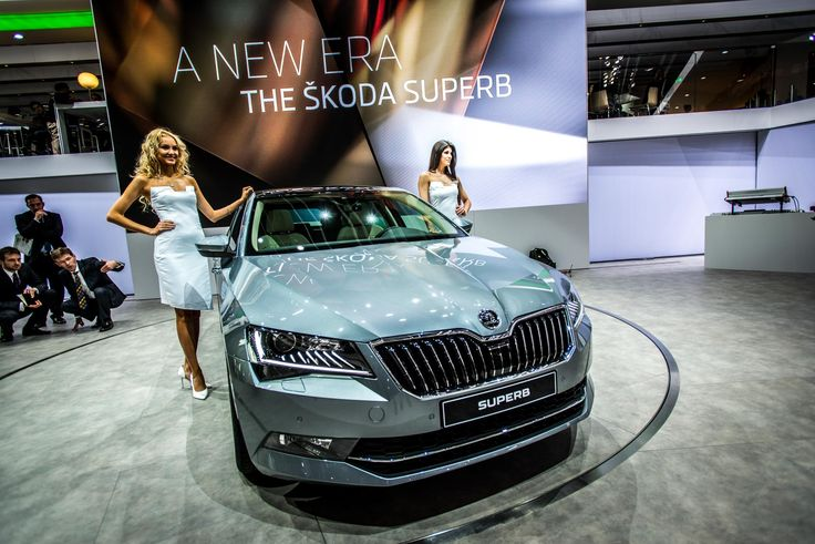 The new, emotionally charged design of the new ŠKODA Superb shows the brand's emotional strength #newskodasuperb #skoda #superb #genevamotorshow #geneva2015