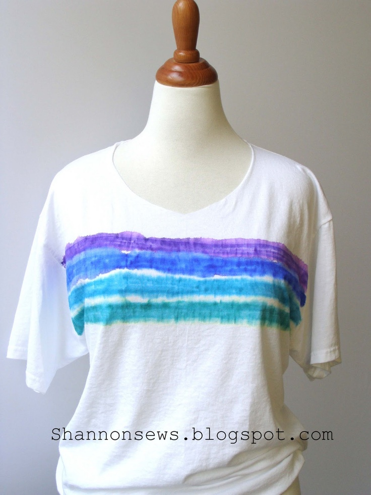 """easy tutorial for Sharpies and Rubbing Alcohol """"tie-dye"""""""
