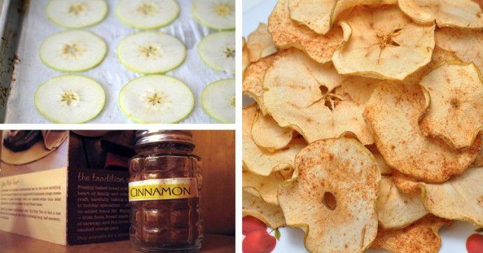Chips de maçã e canela: delícia que ajuda a controlar diabetes, colesterol e queimar gordurinhas | Cura pela Natureza