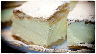 Napoleon's Cake or Papal Cream Cake - Kremowki - Ania's Polish Food Recipe #50