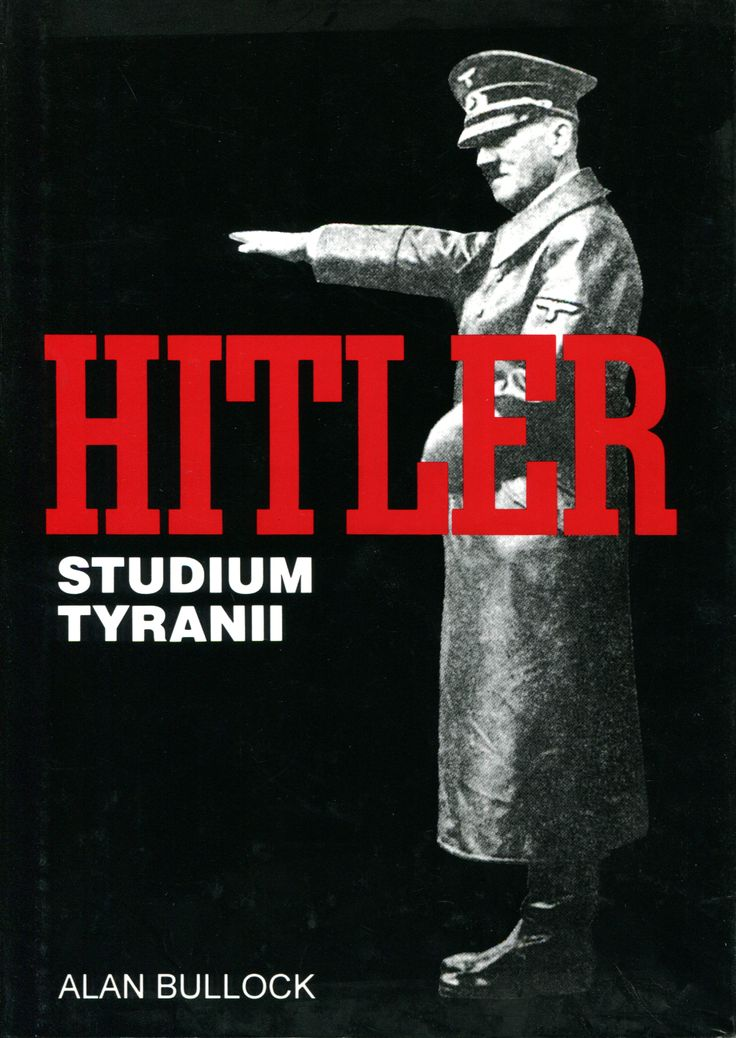 """Hitler studium tyranii"" Alan Bullock Translated by Tadeusz Evert Cover by Krystyna Töpfer Published by Wydawnictwo Iskry 1997"