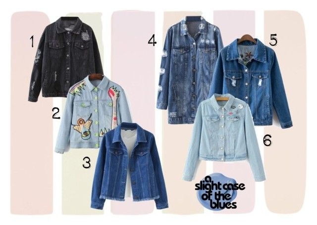 """May Crush: Denim Jackets"" by thebearg on Polyvore"