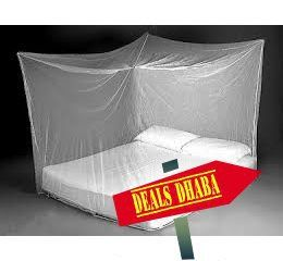 mosquito net 6*6 Feet for 199 INR (50% off) - http://www.dealsdhaba.com/deals/mosquito-net-66-feet-at-50-off/