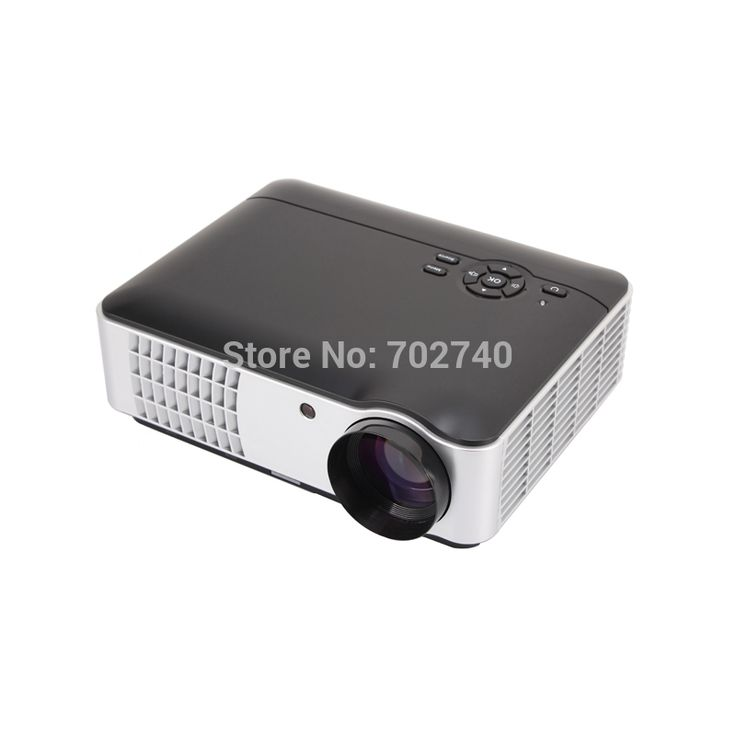 2017 New Home Theater Projector Full HD 1080P 5600 lumens Large screen TV LED Projector Free Shipping