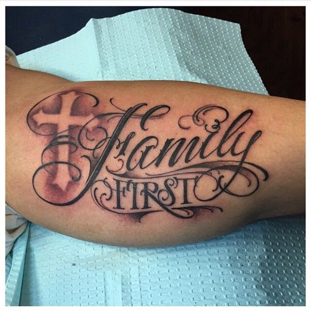 Family First Tattoo