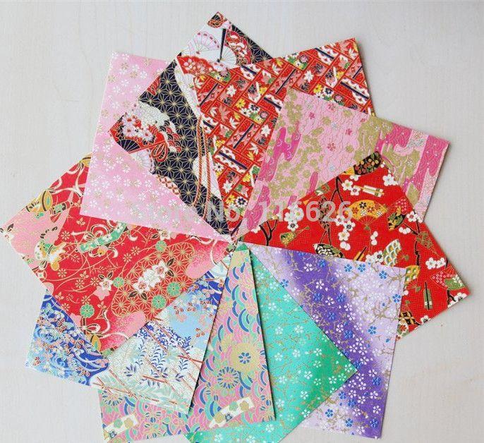 Дешевое 40 шт./лот японский стиль оригами бумаги для свадебные украшения фон 12.5 x 12.5, Купить Качество Бумажные ремесла непосредственно из китайских фирмах-поставщиках:        DIY бумаги оригами бумаги                 Размер: 12.5x12.5 см                 40 шт./лот (смешивать структуры)