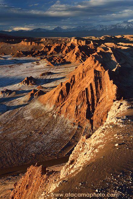 Chile: Valle de la luna.San Pedro de Atacama Atacama desert