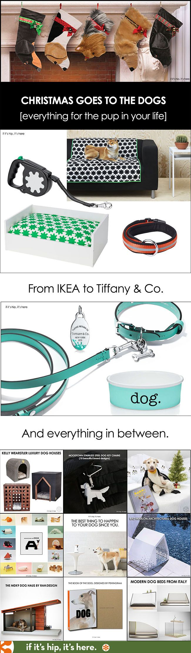 Check out over 200 fabulous gift ideas for dogs and dog-lovers #Tiffanyandcopets #doggifts #IKEAdog #christmasgiftguide