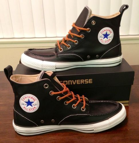 converse high top leather boots