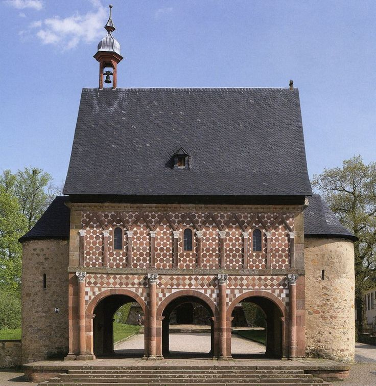 Entrance gate of Lorsch Monastery (764 CE) Germany