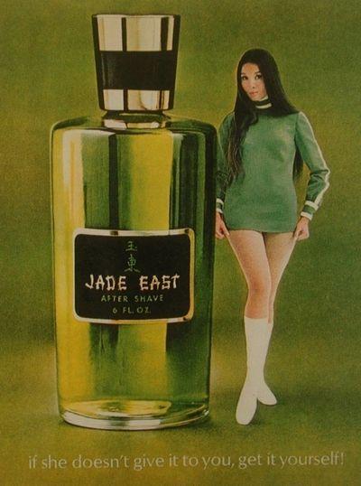 east jade fragrances ads 70s shave 1960s