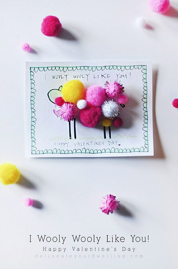 I Wooly Wooly Like You, FREE Valentine's Day printable - Delineateyourdwelling.com