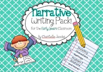 Narrative Writing Pack for Australian Curriculum