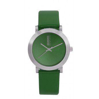 Un sencillo diseño liso de color verde que te combinará a la perfección con cualquier estilo de ropa, aportándote color. http://www.tutunca.es/reloj-mujer-verde-liso-666barcelona-rambla