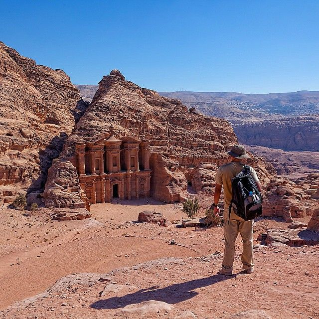 Exploring in Petra, Jordan. Photo courtesy of tuengsak on instagram.