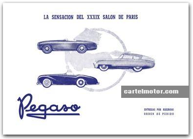 1952 - PEGASO Z-102 PARIS