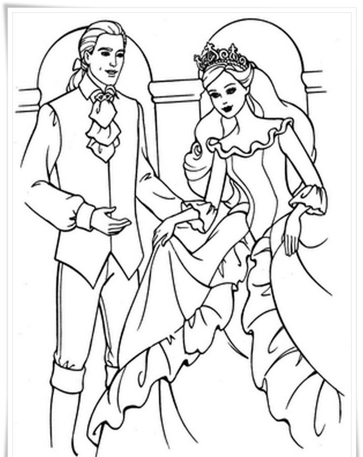 438 best Barbie World ~ Coloring Pages images on Pinterest | Barbie ...