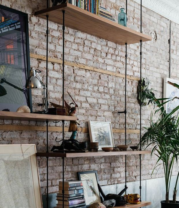 Inspiring ways to decorate exposed brick