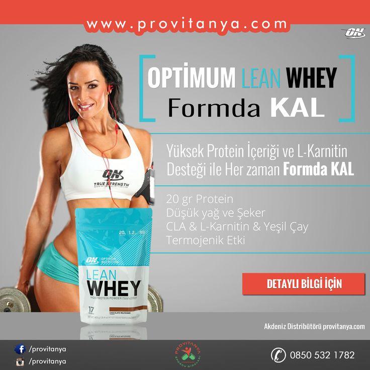 Optimum Lean Whey High-Protein Tozu Özellikle #diyet döneminde olup, yağ ve şeker oranı düşük protein desteği ihtiyacı olanlar için #optimum kalitesi ile geliştirilmiş yüksek protein içeriğine sahip olan Lean whey, #LKarnitin, #YeşilÇay, #CLA içeriği ile kilosuna dikkat edenler için etkili bir #protein kaynağı olacaktır. ▶ Servisinde 20 gr protein ▶ L-Karnitin - Yeşil Çay - CLA içeriği ▶ Düşük Yağ ve Şeker oranı ▶ Termojenik etki #optimum #protein #diyet #fitness #fitfam #fitbayan