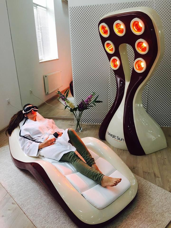 Collagen lamps - Magic Sun with Infrared Active relax onMagic Wave
