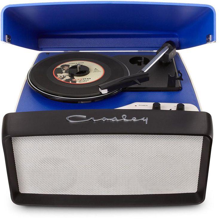 Vitrola Portátil Crosley Collegiate Digitalizadora de Áudio + Agulha de Reposição - Crosley com o melhor preço é no Walmart!