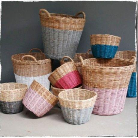 Large Rattan Baskets#lasaubergine#
