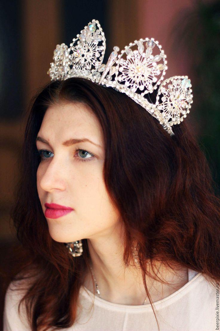 """Купить Корона """"Русская краса"""" - корона, корона для принцессы, корона для…"""