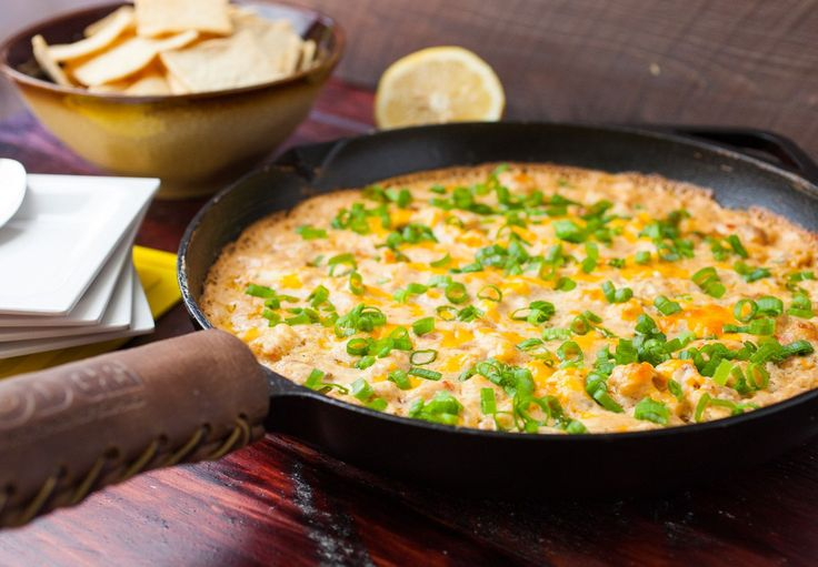 You'll be the hit of the tailgate with this Easy Baked Shrimp Dip!