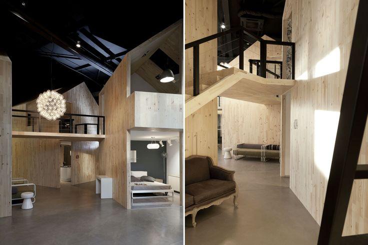 Showroom Nido - Martin bed