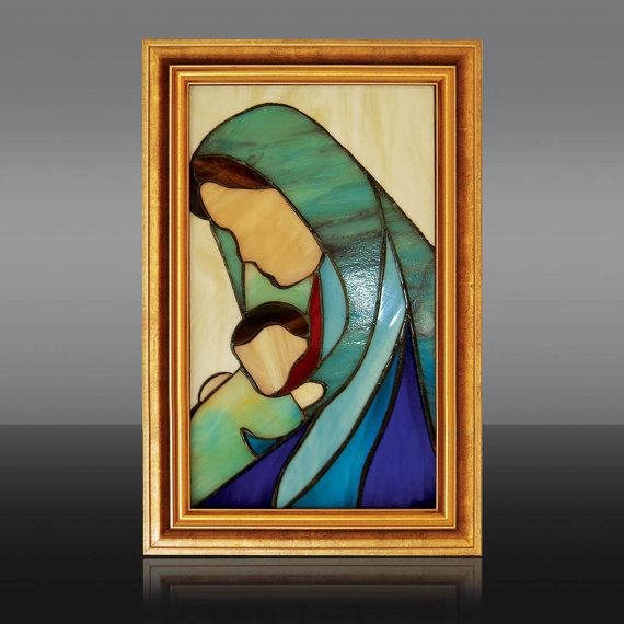 Madonna with Child I by Cherrypl on Etsy