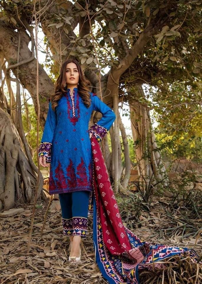 5e2ae6fa34 Buy Sahil Lawn Collection 2019 Online in Delhi & Mumbai. Cotton Designer  Embroidered 3 Piece Unstitched Suit. Visit: www.i… | Pakistani Designer  Suits in ...