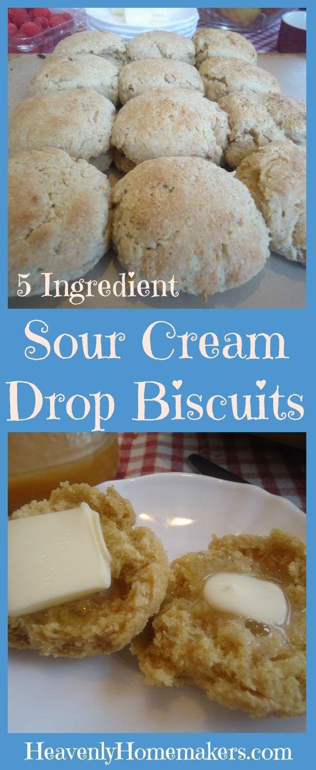 Ingredient Sour Cream Drop Biscuits