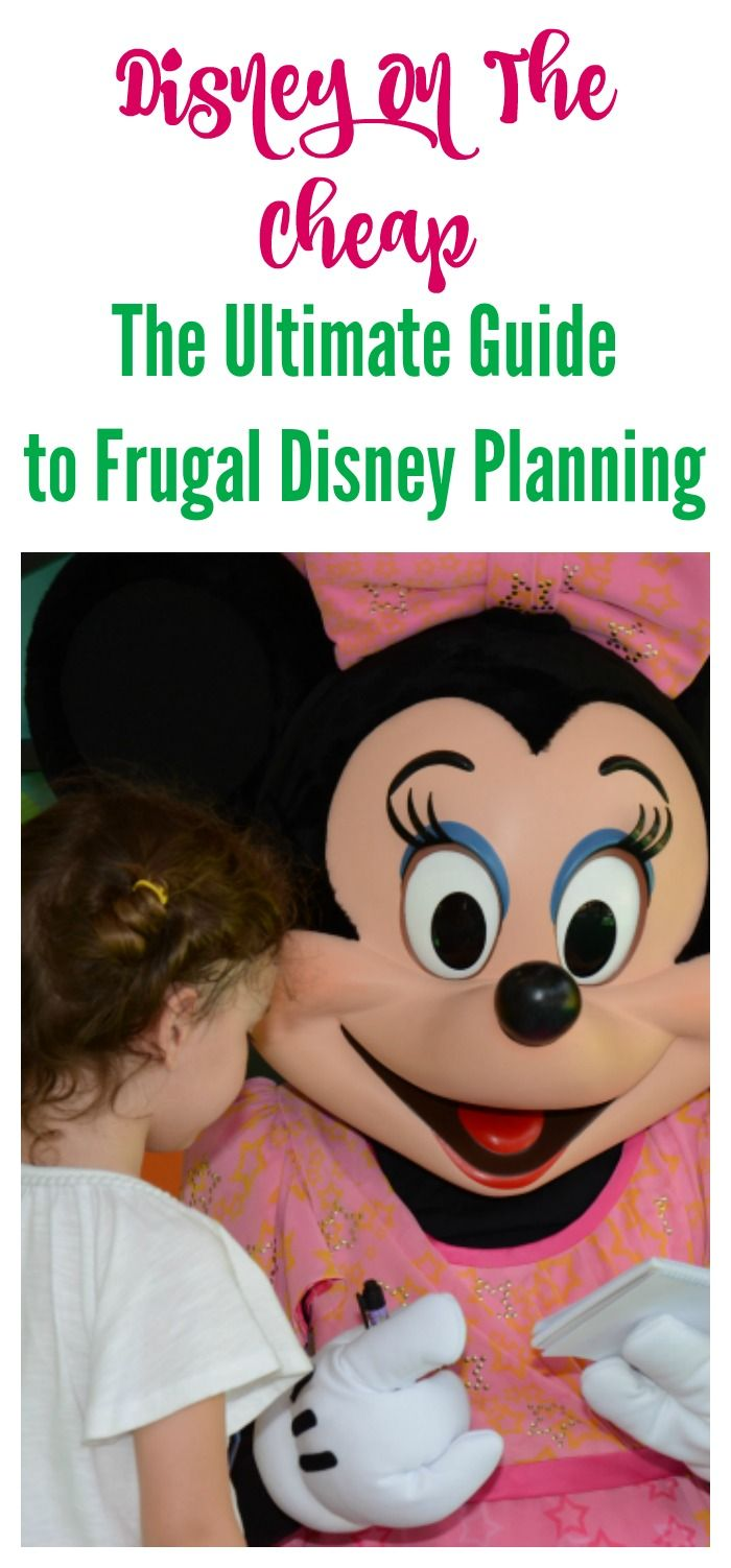 Disney On The Cheap Saving Money On A Disney Trip.  Whether you are planning your first Disney trip or your tenth make sure to check out these great ideas for a frugal Disney vacation.
