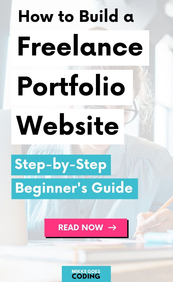 How To Build A Freelance Web Developer Portfolio In 2019 Step By Step In 2020 Web Developer Portfolio Freelance Web Developer Learn Web Development